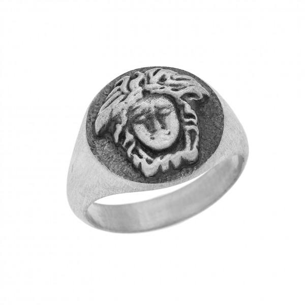 Δαχτυλίδι από Ασήμι 925° Μέδουσα  Ασημένια Δαχτυλίδια